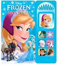 "Disney Exclusive Book ""Disney Frozen Anna's Friends"" New in Package W/Music"