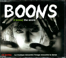 BOONS - I KNOW THE SCORE - CD MAXI [607]