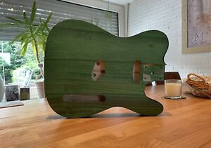Status Quo Francis Rossi Green Tele Body / Korpus