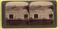 Stereoscopic Card - Baths of Caracalla, Rome - Underwood & Underwood