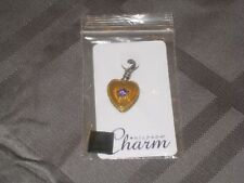 NIP Silpada Charm C2544 Close to My Heart Locket (opens) Sterling Silver &Brass