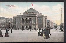 Denmark Postcard - Kobenhavn - Det Kgl Theater  B1026