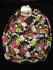 new Hello Kitty multi character 40th anniversary book bag school supplies Sanrio