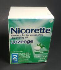 Nicorette Lozenge 2mg - 24ct (72 Total) - Mint Flavor - EXPIRED 04/2018