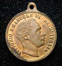 1900  Medaglia     VITTORIO  EMANUELE  III   FDC