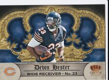 CHICAGO BEARS DEVIN HESTER 2012 PANINI CROWN ROYALE #74