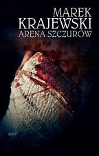 polish book ARENA SZCZUROW Marek Krajewski polska ksiazka