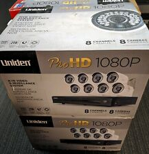 UNIDEN UNVR85x8 - 8 Outdoor HD Cameras - DVR Not Included