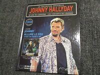 "RARE! CD-LIVRE ""JOHNNY HALLYDAY ALLUME LE FEU : STADE DE FRANCE 98 (1998)"""