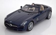 1:18 Minichamps Mercedes SLS AMG Roadster 2011 bluemetallic