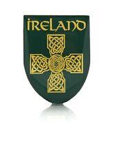 Irish Celtic Cross Ireland Metal Pin Badge Lapel