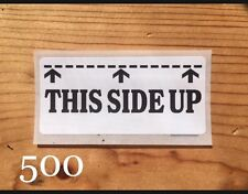 500 THIS SIDE UP label Sticker Safety Packaging Shipping Mail Supply Stocking