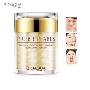 Pure Pearl Collagen Essence Face Hydrating Moisturizing Anti-Aging Serum Cream