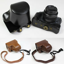 Leather Camera Bag case Grip strap for Canon Eos M6 Mark II EOS M6II