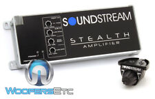 SOUNDSTREAM ST3.1000D 3-CHANNEL MOTORCYCLE SPEAKERS SUBWOOFER MINI AMPLIFIER NEW