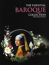 The Essential Baroque Collection Sheet Music The Gold Series Book NEW 014010519