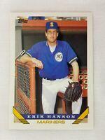 Erik Hanson Seattle Mariners 1993 Topps Baseball Card 342