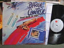 BIRTH CONTROL DEAL DONE AT NIGHT '81 lp RARE german prog w/lyric ARIOLA 203423 !