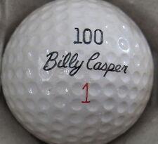 (1) Billy Casper 100 Lc Cc Signature Logo Golf Ball (Cir 1964) #1