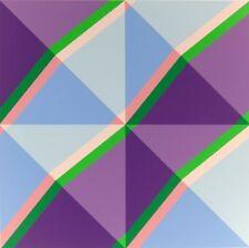 Glattfelder Hansjorg - Serigrafia otto colori - eight colors screen print - 1974