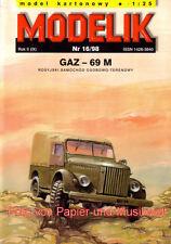 Modelik 16/98 - Gaz-69 M - 1:25