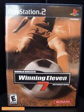 Winning Eleven 7 PS2 Mint & Complete from collector!