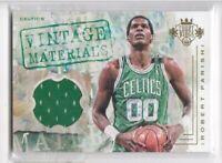 2016-17 Robert Parish #/149 Jersey Panini Court Kings Celtics Vintage Materials
