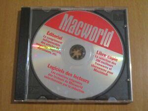 MACWORLD - 200 MO DE SHAREWARES ET DE FREEWARES - MAC CD-ROM