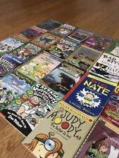 Lot 40 Assorted Children's Kids Chapter Scholastic Books/4th/5th/6th/grade level