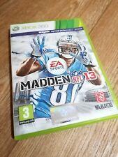 Xbox Spiele 360 Madden 13 NFL American Football schnell frei p&p Retro Familie Spaß