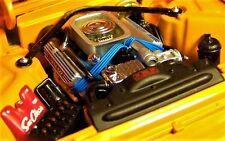 Thunderbird T bird w Engine Motor & Chrome Wheel Ford Convertible 1961 1962 1963