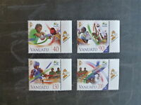 2014 VANUATU RIO OLYMPIC GAMES SET 4 MINT STAMPS MNH