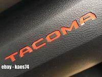 Toyota Tacoma Dash Insert Decal Overlay 2016 2017 2018 4x4 SR5 V6 TRD Pro 2019