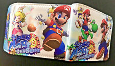 Super Mario Sunshine Wallet Purse Mens Kids Yoshi Nintendo Wii 3DS Gamecube *OZ*