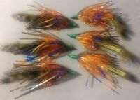 **2019**Bass Crawler Olive/ Blue , Size 1/0, Sold as Assortment, Hot New Item!!