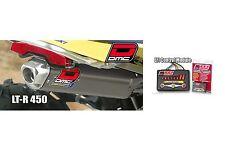 DMC V2 Comp Full Exhaust Pipe + EFI Controller SUZUKI LTR450 LTR-450 2006 - 2010