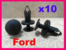 10 Ford engine undertray under tray cover panel lining retainer fastener clips
