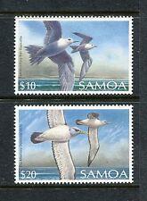 Samoa 739-740, MNH, Birds White Tern, Shy Albatross 19898. x29119