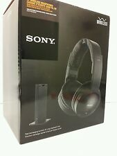 Sony Wireless FM Over-the-Ear Headphones for TV MDR-RF985RK NEW