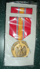 National Defense Service Medal in box with Ribbon - Full Size