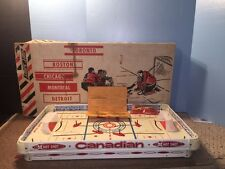 Munro 1964 Table Top Hockey Game Model 961 Boxed Stick Canada Canadian