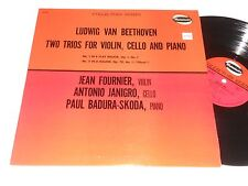 BEETHOVEN VG++ Fournier Janigro Badura-Skoda Trios for Violin Cello Piano 1 & 5