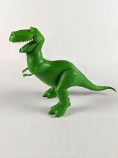 "Toy Story Deluxe Talking Rex Dinosaur Mattel 8"" Disney Pixar"