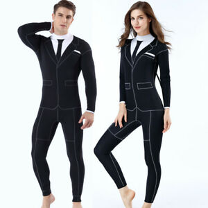 3mm Personality Wetsuit Formal Suit Style Surfing Swimming Swimwear Diving Suits