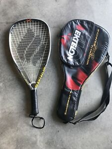 Ektelon Power Ring Ultralite Morph Beam Titanium 1300 Longbody Racketball Racket