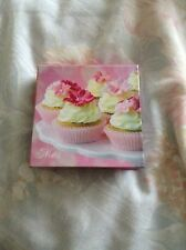 mini cup cake  And note book