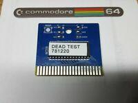 Commodore 64 Dead Test Diagnostic Cartridge Model 781220