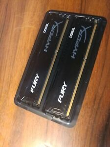Kingston HyperX FURY Black 8Gb (2 x 4Gb) 1600 MHz DDR3L (low voltage)