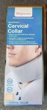 Walgreens Adjustable Cervical Collar, One Size Fits All, New with Package
