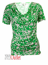 Monsoon Blouse Short Sleeve Floral Tops & Shirts for Women